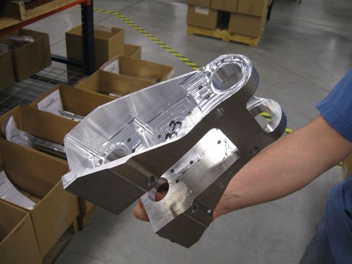 aluminum parts for the Boeing 737