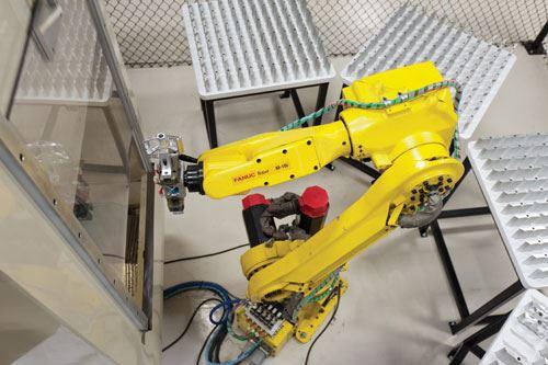 robot/machining center