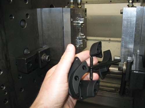 Straitline's machine shop produced plastic parts