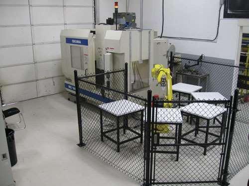 robot/machining center cell