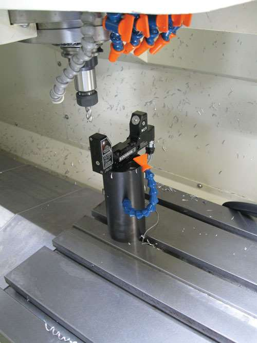 laser toolsetter from Renishaw