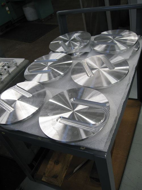 semiconductor test fixture parts