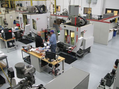 five-axis machining centers