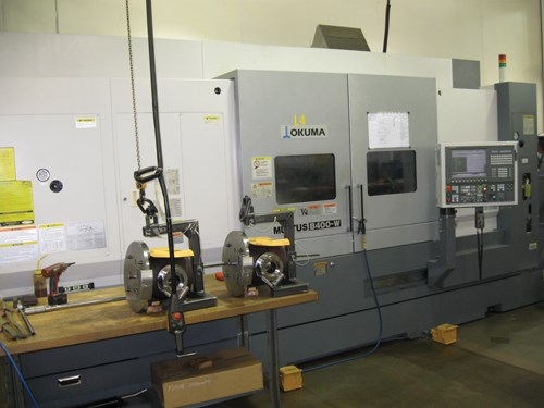 turn-mill machine for oilfield-related parts