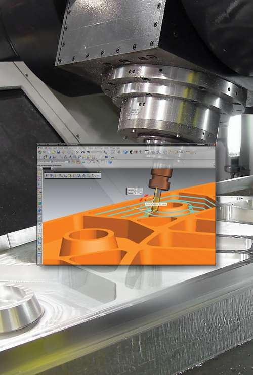 Jogging the axes at the machine tool executes machine motion in the real world.
