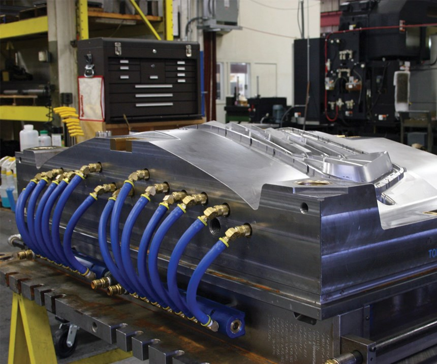 Large tool that is an example of what Viking Tool builds for automotive industry.