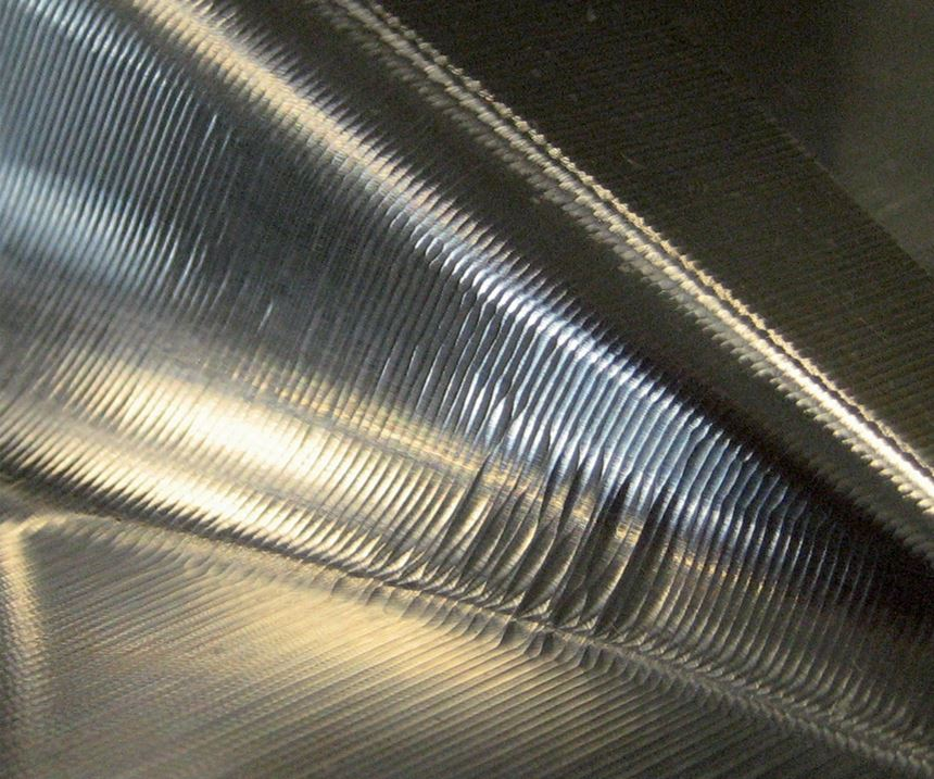 Workpiece with unacceptable surface quality was created without proper CNC motion system.