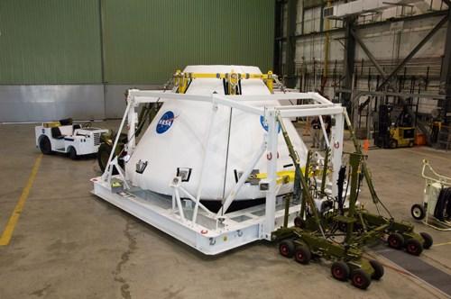 NASA Orion vehicle