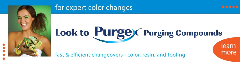 Purgex Purging Compounds  injection molding