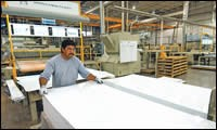 New sheet extrusion plant