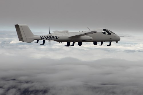 Northrop Grumman Scaled Composites Launch Firebird