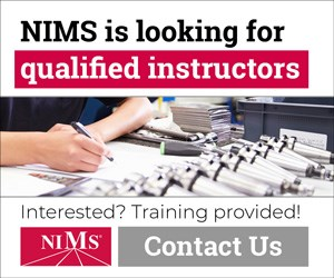 NIMS is looking for qualified instructors