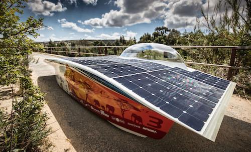Nuna8s solar car
