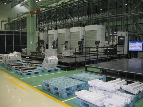 Okuma's DS1 production facility in Oguchi, Japan