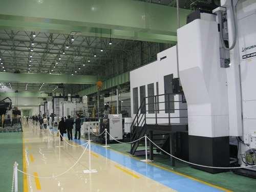 FMS unites four double column machines