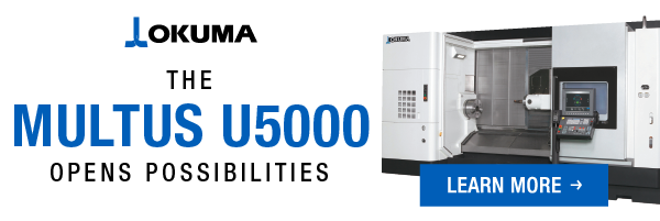 Okuma MULTUS U5000 web banner for turning banner a