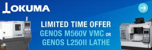Limited Time Offer: GENOS M560V VMC/ GENOS L250II