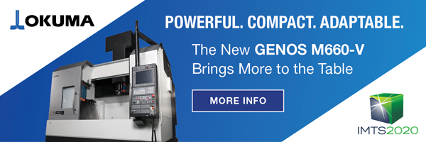 Powerful. Compact. Adaptable. The New GENOS M660-V