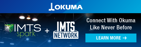 Connect With Okuma Like Never Before: IMTS Spark