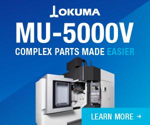 Okuma MU-5000V Web Banner