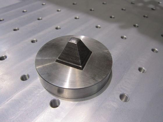 OR lasered sinter part