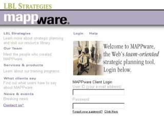 MAPPware home page