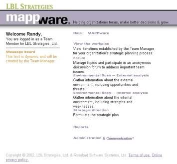 MAPPware tool