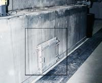 marine trap door