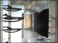 The UV powder coating system