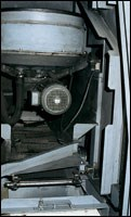 Interior of the dry finishing system