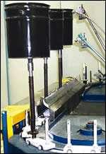 Typical chain-on-edge conveyor