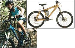 A Trek Fuel full-suspension mountain bike