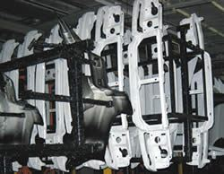 Bar codes on part carriers