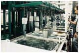 Automated Production zinc line.