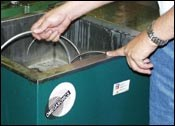 non-toxic ultrasonic cleaning bubbles