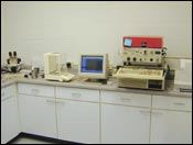A well-equipped laboratory