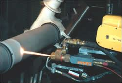 HVOF thermal spray of tungsten carbide/cobalt-chrome