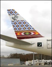 Airlines use exterior livery