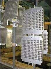 Aluminum alloy tubesheets