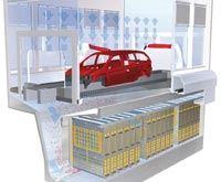 E-Scrub electrostatic paint overspray collector