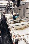 cadmium plating tank.