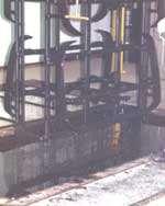 Plating racks are plastisol coated twice