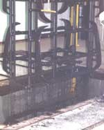 Plating racks are plastisol coated twice
