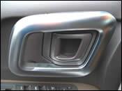 Plastic automotive interior trim components