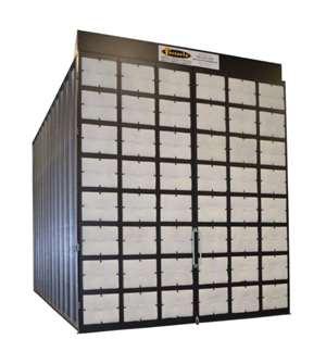 Fostoria modular spray booths, batch curing ovens