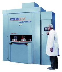 Equipment used in thermal energy deburring