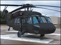 Blackhawk helicopter testbed