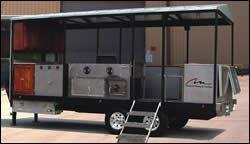 Custom mobile cooker