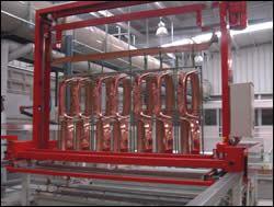 parts receive a copper strike