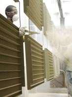 In-house powder coating